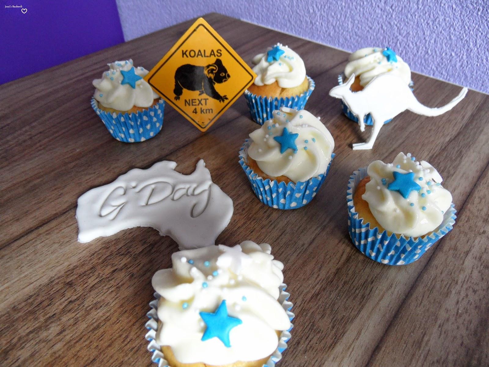 Cupcakes:Zitronen-Muffins-mit Orangenfrosting
