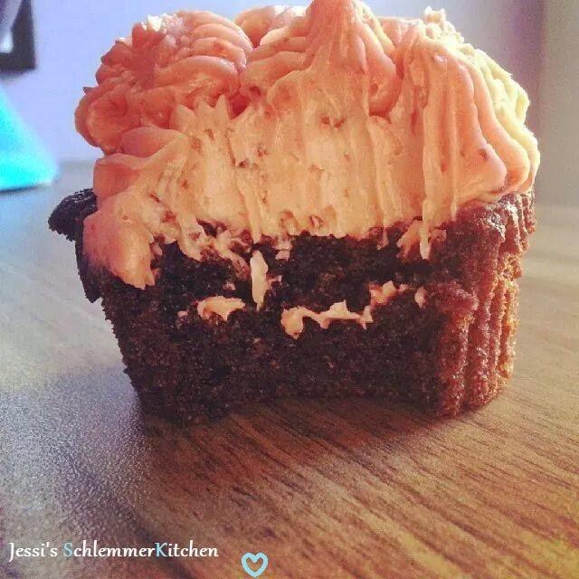 Rezept: Orangen-Schokoladen-Cupcakes