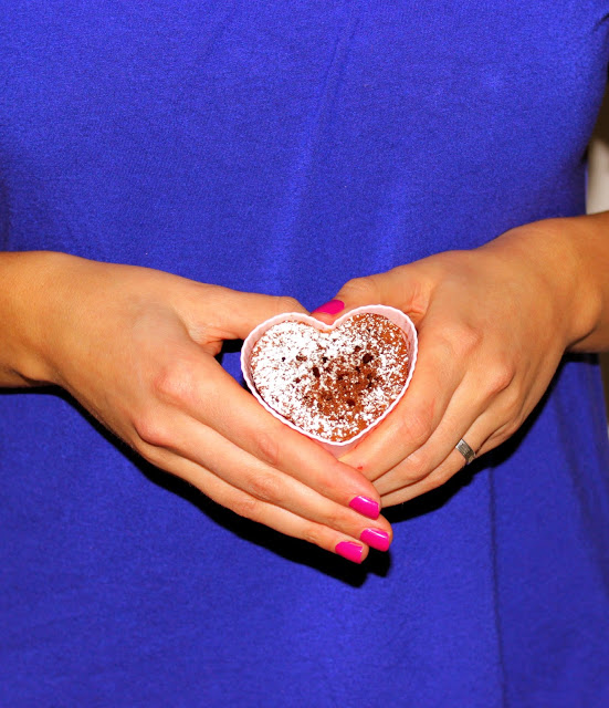 Valentinstag:Schokoladenküchlein-Weißes-Schokoladen-Parfait