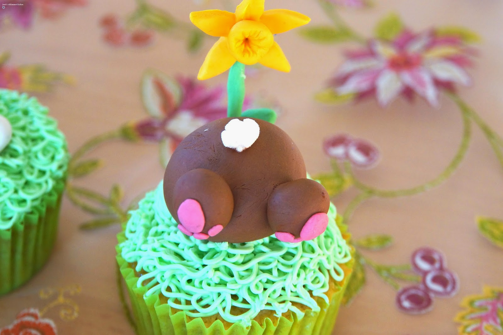 Ostern:Cupckaes-Hase-Po