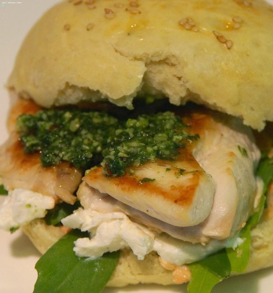 Italian-Chicken-Burger