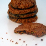Besuch von Krümelmonster – Choco Pistachio Cookies