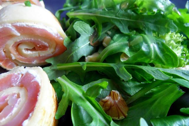 Lachsroellchen-salat