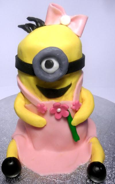 Minion, Torte, Miniongirl, Minionmädchen
