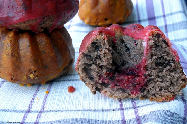 3. deutsche Backtag 2015 - Rotweinkuchen-Mini Gugel - Deutschland Kuchen