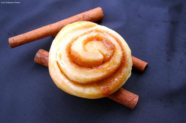 Orangen-Zimtschnecken - Orange-cinnamon-rolls