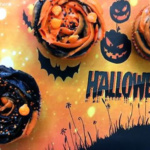 Halloween Schoko-Cupcakes {Sponsored}