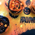 Halloween Schoko-Cupcakes [Werbung]