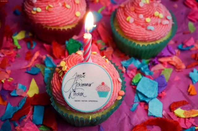 Sekt-Cupcakes-Mascarpone-Jessi's Schlemmer Kitchen - Blog - Geburtstag