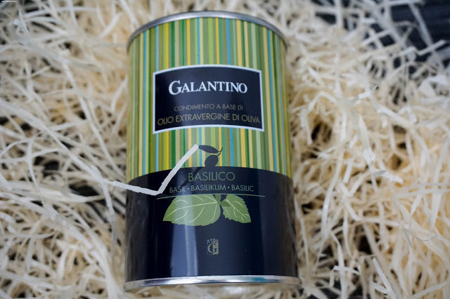 Foodist-Box-Test-Oliven Basilikum Öl - Galantino