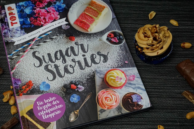 Sugar Stories - Erdnuss - Cupcakes mit Snickers - Buchrezension