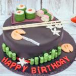 Asiatische Torte