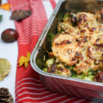 Puten-Brokkoli-Kartoffel-Auflauf