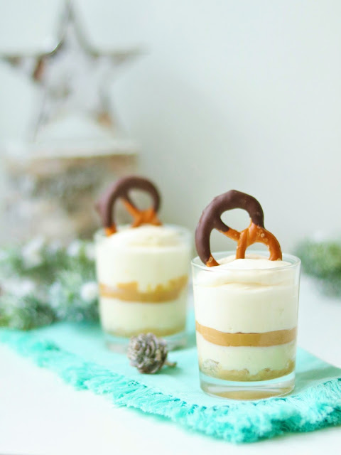 Peanutbutter Cheesecake im Glas - Julias Delicious Stories