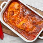 Gastbeitrag von Gerne kochen – Paprika-Sahne-Hähnchen