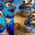 Krümelmonster Cupcakes 2.0