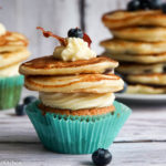 Blueberry Pancake Cupcakes – Wanderbuch Bake in the USA