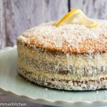 {Zu Gast bei} Baking Avenue Lemon Lamington Cake