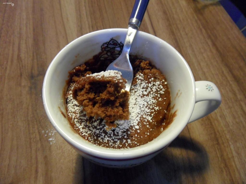 Mugcakes:Schokoladen-Tassenkuchen