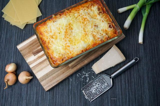 Lasagne-selbstgemachte Nudeln - Jessi's SchlemmerKitchen