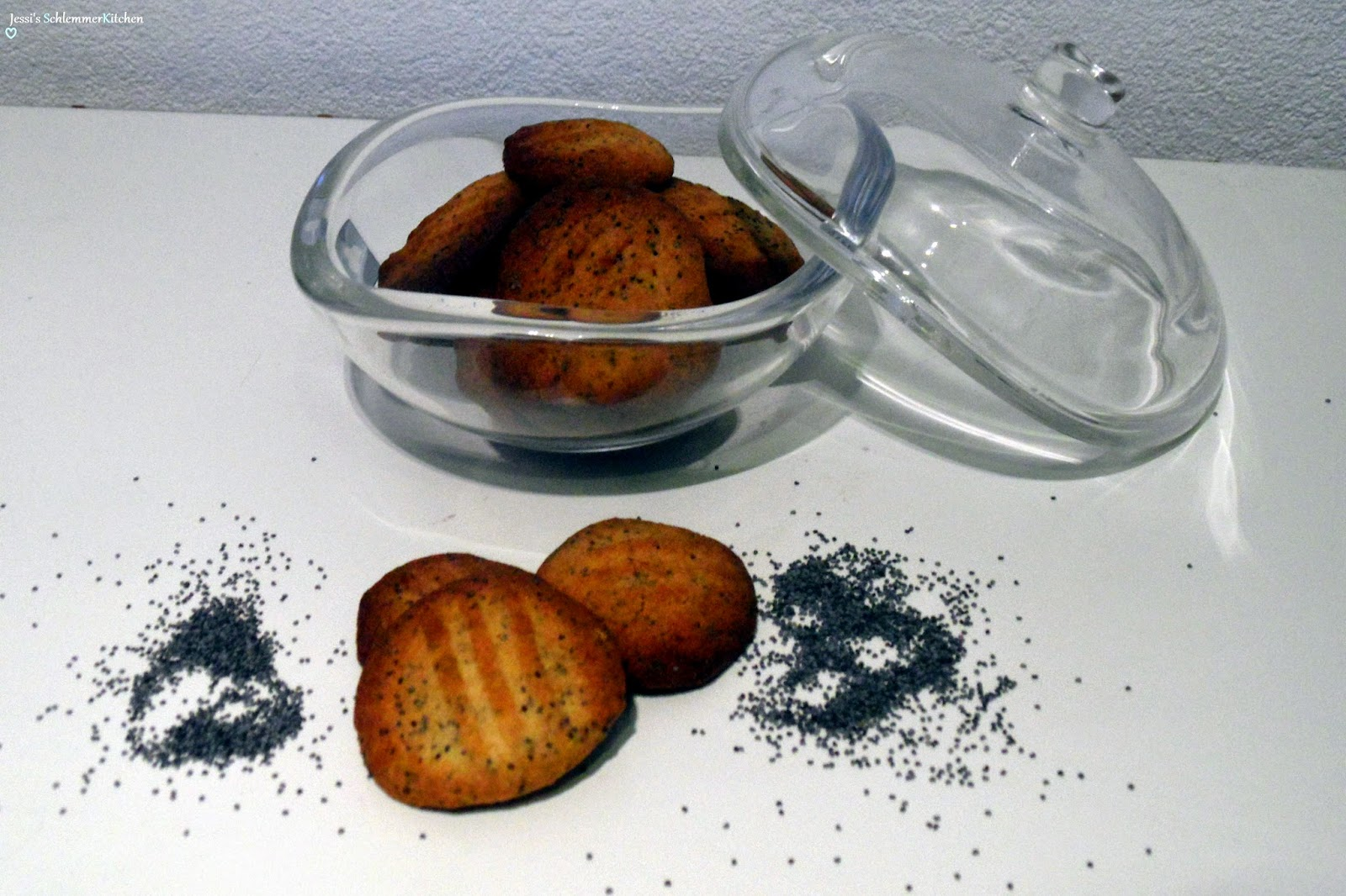 Projektzuckerfrei:Zitronen-Mohn-Kekse