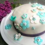 {Muttertag} Heidelbeer-Torte