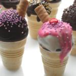 Ice Ice Baby… Eiswaffel Cake Pops