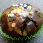 Schokoladen Käsekuchen Muffins