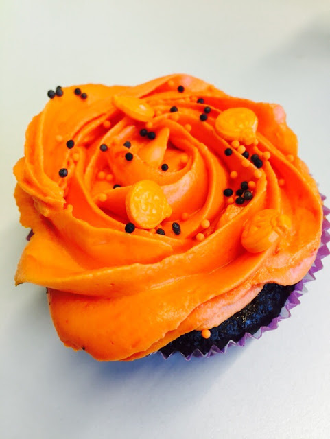 Halloween Cupcake - Schokolade - Creamcheese