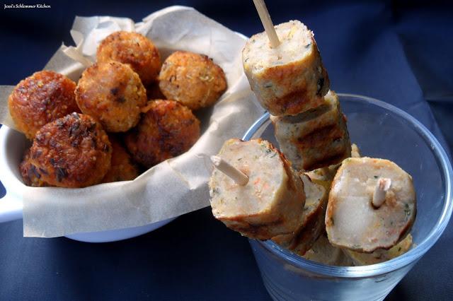 Süßkartoffel Quinoa Bällchen - Grillido Veggie