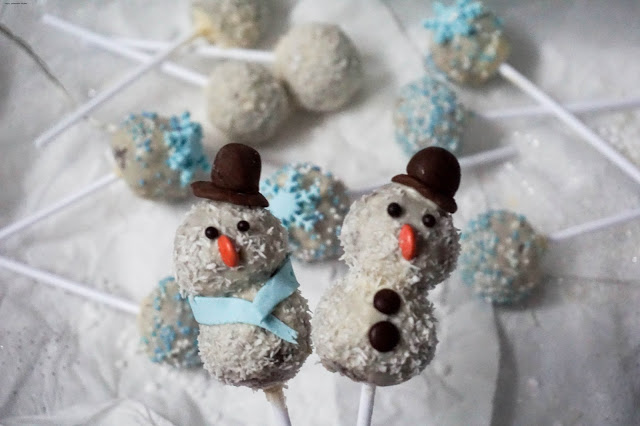 Winter Lebkuchen Cakepops