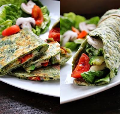 Backtrinchen-Bloggeburtstag-Spinat-Quesadillas-Wrap