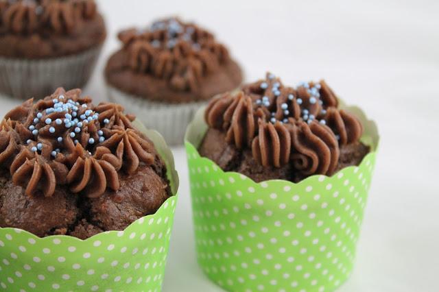 Münchner Küche - Schokoladen-Cupcakes