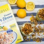 Lemon Curd Dessert mit Müsli Crumble [Werbung]