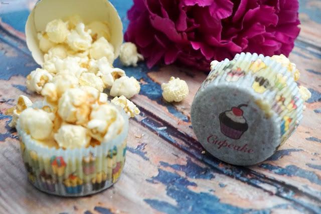 Cheesecake Cupcake - Popcorn - Karamell - Käsekuchen Muffin