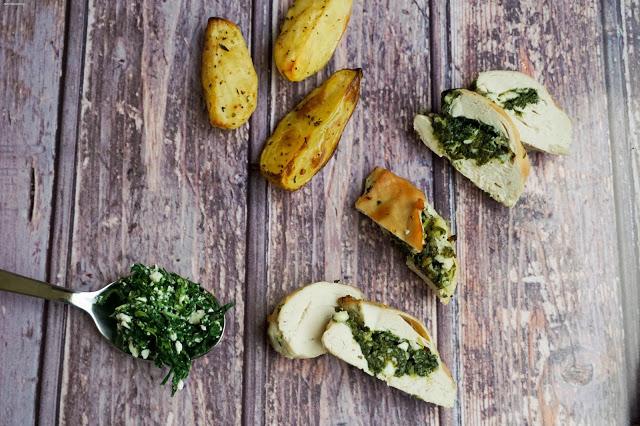 Hühnchen- & Feta-Kalzium-Booster - Koch dich gesund!
