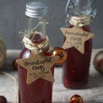 Schnelle Geschenke aus der Küche: Granatapfelessig und Zitronenöl