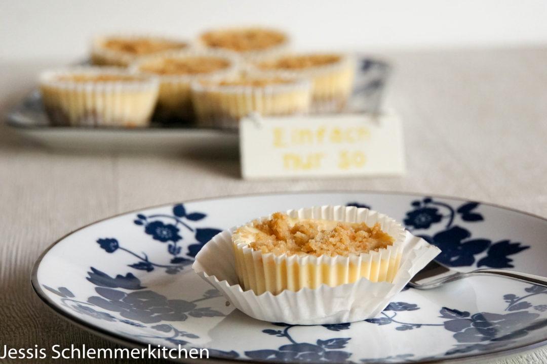 Kasekuchen Muffins Mit Streuseln Jessis Schlemmerkitchen De Food