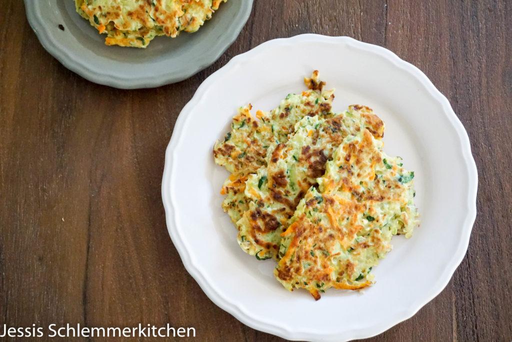 Zucchini-Puffer