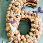 Meerjungenfrauen-Number-Cake [Werbung]