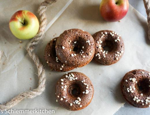 Apfel Donuts mit Zimt