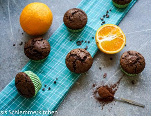 Orangen Schoko Muffins